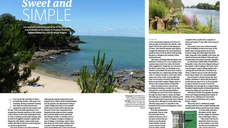 In the August issue of Living France we set sail to Charente-Maritime