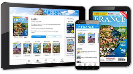 Welcome to the brand new France Magazine app!