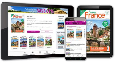 Welcome to the brand new Living France app!