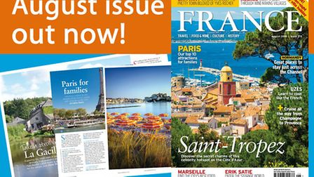 The August 2016 issue of FRANCE Magazine