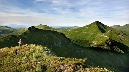 Auvergne is the perfect spot for hikers © Auvergne tourist office