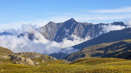 Mercantour mountain range and national park in the South of France ©ThinkstockPhotos