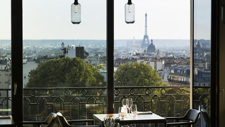 Stunning vista over Paris and the Eiffel Tower at Le Terrass' hotel ©Hotel Le Terrass'