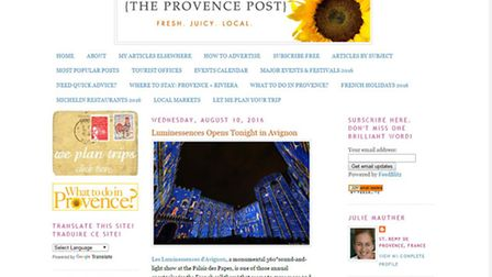 The Provence Post blog