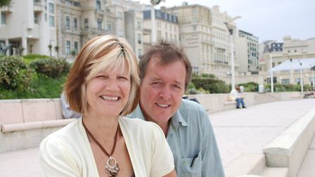 Kris and Dave says renovating a property in France has taught them many skills