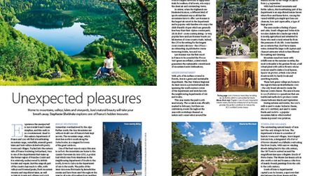 Discover the unspoilt pleasures of Jura in the September 2016 issue of Living France