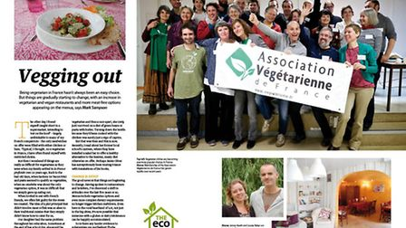 Find out how the vegetarian food scene in France has evolved in the September issue of Living France