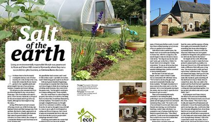 Meet an expat running eco friendly accommodation in the September issue of Living France