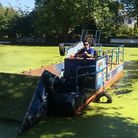 'Explosion' of duck weed turns Regent's green PHOTO: Canal & River Trust