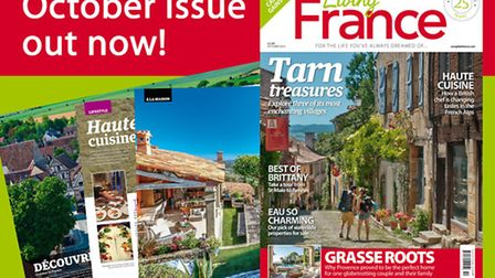 The October 2016 issue of Living France is out now!