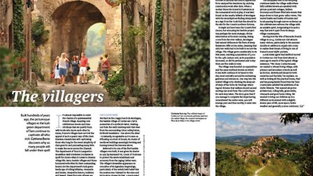 Discover Tarn's medieval villages in the new issue of Living France