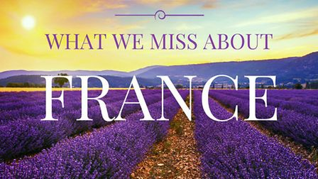 Things we miss about France ©Thinkstock