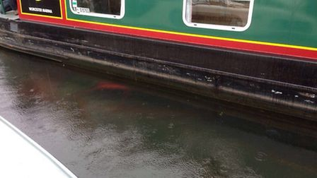 A narrowboat struck a Land Rover on the River Avon | Evesham SNTs