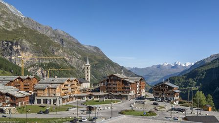 View of Residence Kalinda in Tignes by MGM French Properties