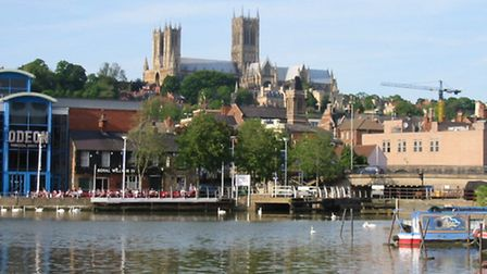 Brayford Pool and Lincoln Minster