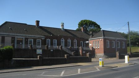 Cromer's closed courthouse and police station.