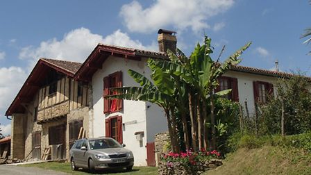 Expats Dave and Kris's renovated a derelict cottage in Béarn