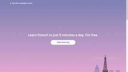 Duolingo is a great resource for learning a language