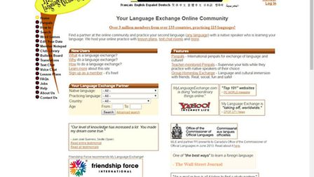 My Language Exchange will help you find that all-important French native speaker