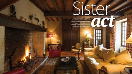 Read how two sisters renovated this traditional property in Périgord into a relaxing retreat