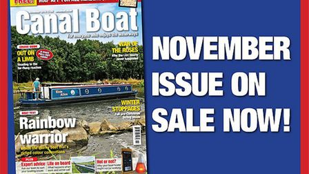 Get the November issue of Canal Boat now!