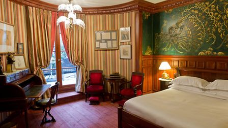 In L'Hotel, guests can stay in the writer's room called The Oscar Wilde Suite © Amy Murrell