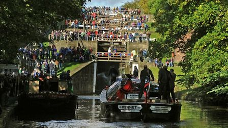 The Kennet at the Bingley Five Rise Locks | @MarkPenny1