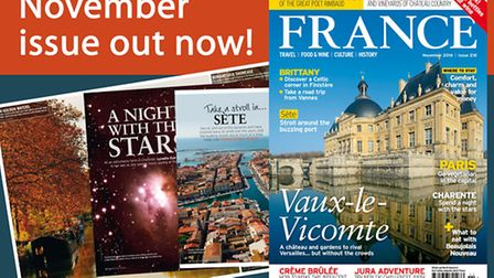 November issue of France Magazine is now on sale
