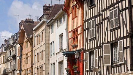 Half-timbered houses in the centre of Troyes ©ThinkstockPhotos