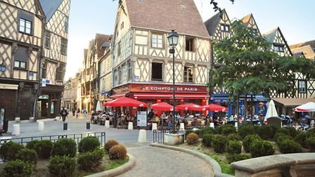 Place Gordaine in Bourges © Frederick Loriot