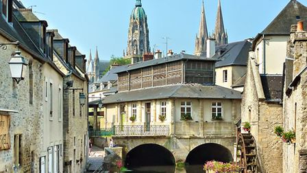 The town of Bayeux in Normandy © L Durand / Calvados Tourisme
