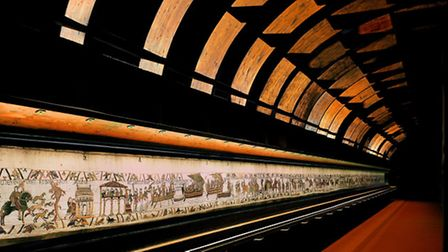 Bayeux Tapestry showing the Battle of Hastings © Ville de Bayeux