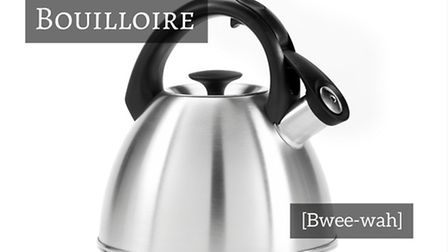 How to say kettle in French © Thinkstockphotos