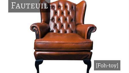 How to say chair in French © Thinkstockphotos