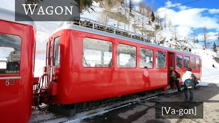 How to say train carriage in French © Thinkstockphotos