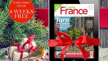 Enjoy a subscription to Living France magazine this Christmas