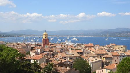 St Tropez on the French Riviera