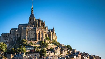 Mont St Michel in northern France