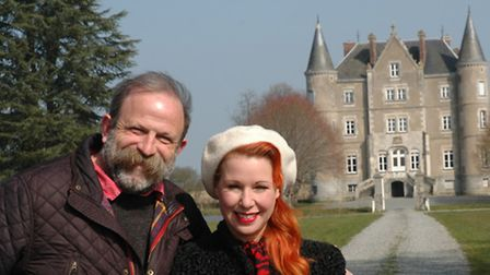 Dick and Angel couldn't believed their luck when they discovered that a grand château was within the