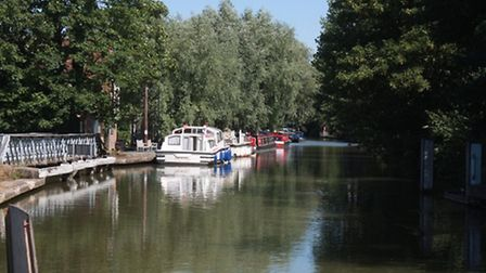 East Street Oxford visitor moorings, a trial site of the 'car park style' terms and charges