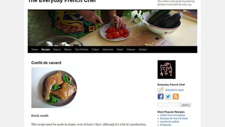 The Everyday French Chef blog