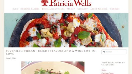 At Home with Patricia Wells blog