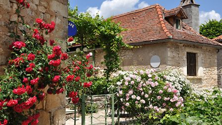 Property in the French village of St Cirq Lapopie © Magdalena Jankowska / Thinkstockphotos