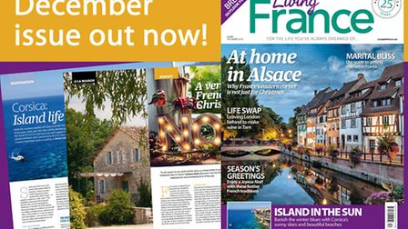 The December 2016 issue of Living France is out now!