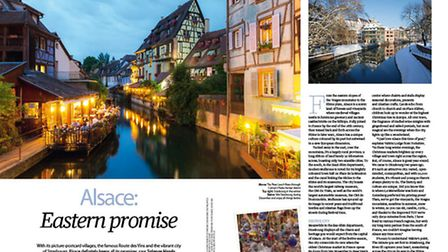 In the December issue of Living France we explore Alsace