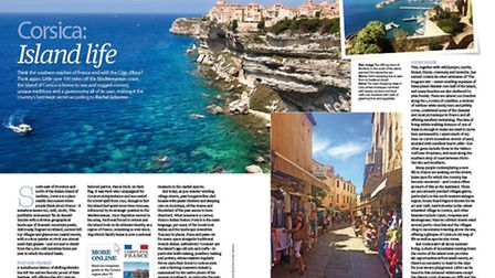 Find out about life on the Mediterranean island of Corsica