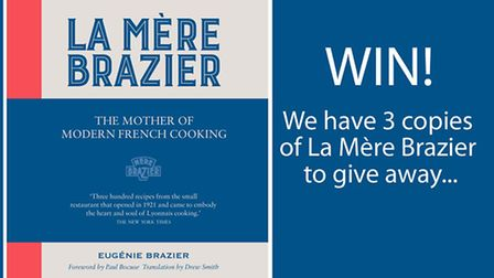 Enter our competition for your chance to win a copy of the cookbook, La Mère Brazier