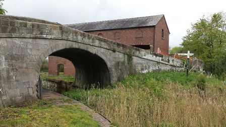 The canal at Wappenshall Wharf fell into disuse by the 1970s | Western Bonker, Flickr CC2.0