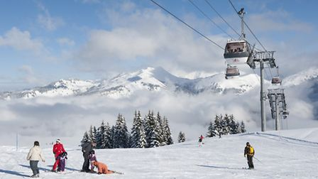 MGM French Properties's new development in in the resort of Samoens in the French Alps © Gilles Lans