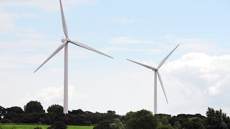 LEGAL THREAT: Campaigners in Kessingland and Gisleham say the wind turbines alongside the A12 are co